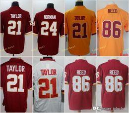 5f3f69d69 Washington Redskins Custom Football Jerseys Men  25 Chris Thompson 91 Ryan  Kerrigan 24 Josh Norman 21 Sean Taylor stitched Jerseys