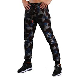 camouflage fitness pants Australia - Winter Men Sport Pants Fitness Jogger Bodybuilding Camouflage Gym Jogging Pants High Elasticit Running Trousers Sweatpants