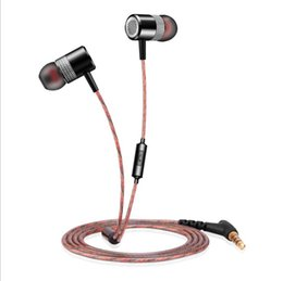 Cell Phones Classic Australia - hot sell 2019 Classic new D02 sports in-ear mobile phone brand new metal strong bass HIFI sound earplugs