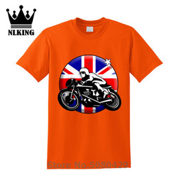 british tees Australia - Tees Vintage UK flag design British Motorcycle T-Shirt Viking Funny Style t shirt men shirt WOMEN Princess Short Sleeve Cotton