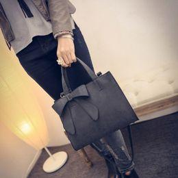$enCountryForm.capitalKeyWord Australia - Fashion Women Cookie Bags Solid Color PU Leather Ladies Shoulder Bags Cute Bow Girl Mini Handbags Women Makeup Shoulder Bags13.9