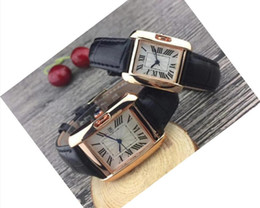 couple watches automatic 2021 - NOT Mechanical Luxury Automatic Couple Luxury women men watches lovers' Leather strap Gold Quartz Classic Wrist watch best Valentine gift