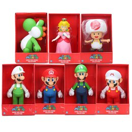 "$enCountryForm.capitalKeyWord Australia - kids gifts 9"" 23CM Super Bros Luigi Mario Yoshi Action Figures Toys Doll Super Mario Collection Figure Toys Model kids gift"