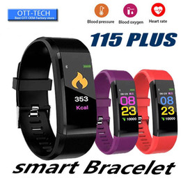 bt smart watch Australia - ID115 Plus Sport Smart Pedometer Men Bracelet BT Call Reminder Remote Activity Tracker Calorie Counter Clock Women Sports Watches