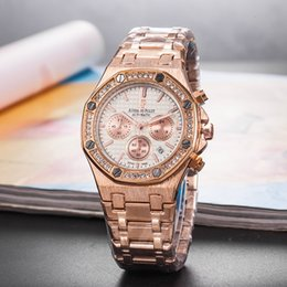 $enCountryForm.capitalKeyWord Australia - 2019 Fashion Lady Watches Women Watch Rose Gold Silver Stainless Steel Oaks Wristwatches Female Clock 16 Colors Daydate