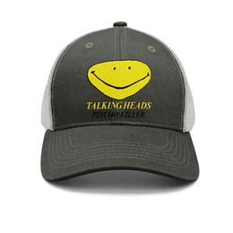 $enCountryForm.capitalKeyWord UK - Talking Heads Psycho Killer Album Art army-green for men and women trucker cap ball styles custom blank hats