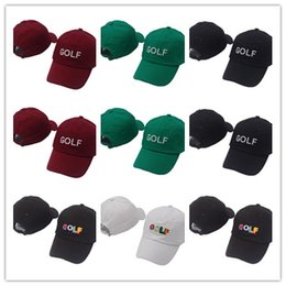 683a78d6a7535 red golf wang hat 2019 - New Fashion Tyler The Creator Golf Hat - Black Dad