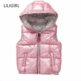 Discount boys clothes years old - Children Waistcoat Outerwear Winter Coats Kids Clothes Warm Hooded Down-Cotton Baby Boys Girls Vest For Age 3-10 Years O