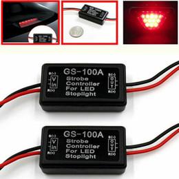 Vehicle Car GS-100A LED Brake Stop Light Strobe Flash Module Controller Box on Sale