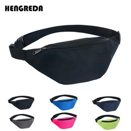 Wholesale Women Fanny Pack Waist Bag Hengreda Travel Hip Bum Pocket D Waterproof Festival Party Sling Chest Daypack Belt cm