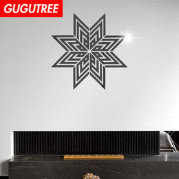 $enCountryForm.capitalKeyWord Australia - Decorate Home 3D flower star cartoon mirror art wall sticker decoration Decals mural painting Removable Decor Wallpaper G-389