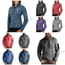 $enCountryForm.capitalKeyWord Australia - 2020 New York Rangers Antigua Mens Womens Fortune Half-Zip Sweater Pullover Jackets- Heather Navy Charcoal Purple Grey Royal