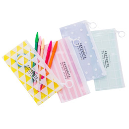 $enCountryForm.capitalKeyWord Australia - 1 PC Women PVC Cosmetic Bag Toiletry Travel Toothbrush Makeup Organizer Wash Pouch Organizer Pencil Case