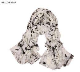 $enCountryForm.capitalKeyWord UK - Women Marilyn Monroe Scarves fashion NEW 160*65cm Chiffon thin scarf shawls Best gift jewelry 22001
