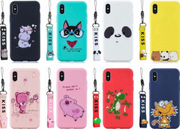 Discount cute soft cat cases Soft TPU Case For Huawei P Smart 2019 Y6 Y7 Y9 2019 P30 Lite P20 Pro Mate 20 Cartoon Cute Cat Bear Pig Tiger Dinosaur Ki