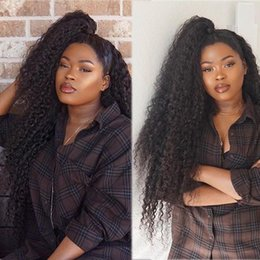 $enCountryForm.capitalKeyWord Australia - Black Kinky Curly Hair Synthetic Wigs Heat Resistant 180 Degree Synthetic Hair Simulate Human Hair Long Curly Weave African American Wigs