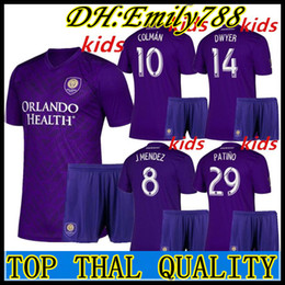 $enCountryForm.capitalKeyWord Australia - Kids kits 2019 2020 MLS Orlando City soccer jersey top quality children 19 20 KAKA DWYER COLMAN boy uniforms football jerseys shirts