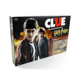 $enCountryForm.capitalKeyWord Australia - 2019 Hot Sale Clue Harry Potter Board Game Action Figures Collector's Edition Brand New Sealed Set Witchcraft Game Collection Cards Kit Toy