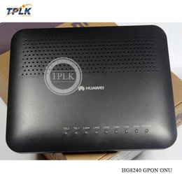 fiber network Australia - 100% New Original Hua Wei HG8240 GPON ONU 4FE+4LANS+WIFI OR 1GE+3FE+4LANS+WIFI for FTTH FTTB FTTX network fiber optic router