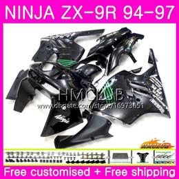 $enCountryForm.capitalKeyWord Australia - Bodys For KAWASAKI NINJA ZX 9R ZX900 ZX-9R 94 95 96 97 Kit 69HM.1 ZX 9 R 94 97 900CC ZX9R 1994 1995 1996 1997 Full Fairing Cool Glossy black