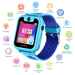 security digital card Australia - 2019 New Waterproof Children smartwatch SOS Emergency Call LBS Security Positioning Tracking Baby Digital Watch Support SIM Card SH190929