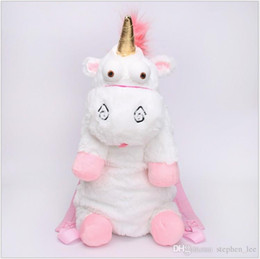 $enCountryForm.capitalKeyWord UK - 60cm Cute Unicorn Plush Backpacks Children Kids Cartoon Animal Dolls Soft Stuffed Toys Shoulders Bag Girls Tourism Backpacks Christmas Gifts