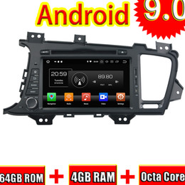 stereo media player UK - Topnavi Android 9.0 Car DVD Media Center CD Player For Kia K5 OPTIMA 2011 2012 2013 Audio Radio Stereo Double DIN GPS Navigation