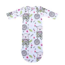 Petal bag online shopping - Newborn Floral Sleeping Bags Baby Blanket Outfit Kids Petal Sheep Tree Printed Gown Headband Girl Boy Long Sleeves