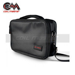 Tool Bag Master Coil Australia - 100% Original Coil Master Vape Bag For Electronic Cigarette Box Vape Mod KIT Atpmizer Vaporizer Tank DIY TOOl For Gear Carrying