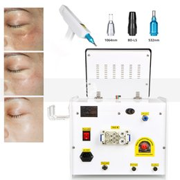 Tattoo Removals Australia - Hot Sell RED Target Light ND Q-Switch YAG Laser Tattoo Removal 532nm 1064nm 1320nm Laser Equipment
