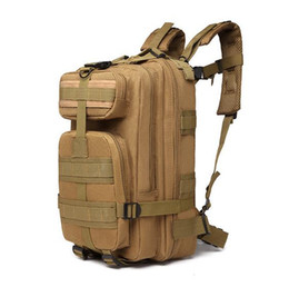 Travel Fan NZ - Multifunction Outdoor camouflage backpack Army fan tactical backpack 3P mountaineering bag Camouflage walking bag Travel package 126#