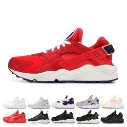 $enCountryForm.capitalKeyWord Australia - New huarache running shoes for men women VARSITY JACKET PURPLE PUNCH triple black white pink grey mens trainer breathable sports sneakers