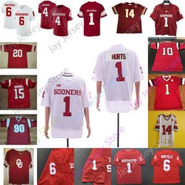 ingrosso rambo-Personalizzato Oklahoma davanti a Football Jersey NCAA College Ceetee Agnello A D Miller Charleston Rambo Jadon Haselwood Sims Murray Perkins Redmond