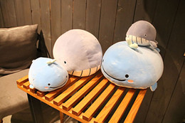 $enCountryForm.capitalKeyWord NZ - Factory direct sale down cotton soft marine animals pillow dolphins and whales plush toy grab machine doll wholesale