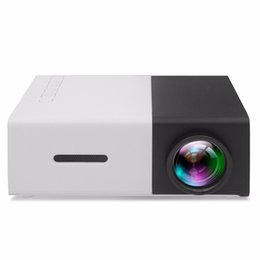 projector remotes Australia - YG300 LED Projector 320x240 YG-300 Portable Mini projecteur Home projection phone projector with smart remote control