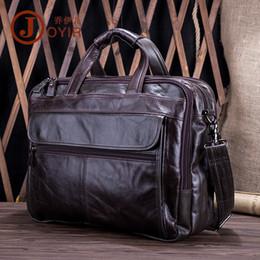 Antique Zippers Australia - Men Oil Waxy Leather Antique Design Business Briefcase Laptop Document Case Fashion Attache Messenger Bag Tote Portfolio 9912