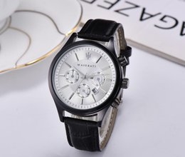 watches italy brand men Australia - USA Italy stainless Steel Case Quartz Man Leather watch Japan Movement watch rose gold Wristwatch Life Waterproof Brand male clock Hot Items