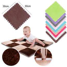 Carpet gym baby online shopping - Children s Carpet EVA Foam Shubu Puff Mat Puzzle Baby Game Mat Interlocking Sports Mats Baby Gym L0515