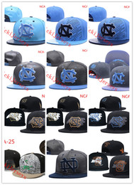 new arrival b830c 46a76 Embroidery NCAA North Carolina Tar Heels Snapback Caps Notre Dame Fighting  Irish Caps Oklahoma State Cowboys hat one size fit Most