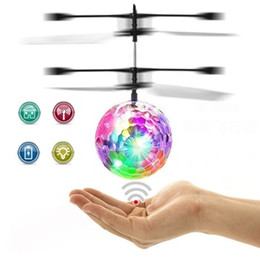 $enCountryForm.capitalKeyWord Australia - RC Flying Toy Infrared Induction Helicopter Drone with Colorful Shinning LED Light and Remote Controller Familiy Game Free Shipping