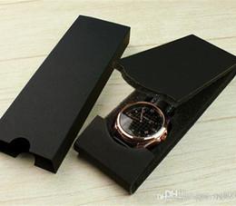 $enCountryForm.capitalKeyWord Australia - Wholesale Ultra Thin Original Box Watch New Black Model Fashion Gift Boxes Luxury Double Paper Rectangle Folding Shockproof Soft Case