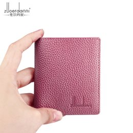$enCountryForm.capitalKeyWord Canada - Top Quality Men Wallets fashion hot sale Man letter real leather mini card holder for women with box 203abc
