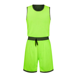 trikot-stil basketball  großhandel-New Style Basketball Uniform Sets Sport Jersey für Männer