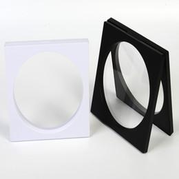 $enCountryForm.capitalKeyWord Canada - 160*160mm PET Membrane box Holder Inner Circle Floating Display Case Earring Gems Ring Jewelry Suspension Packaging Box