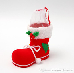 $enCountryForm.capitalKeyWord Australia - Christmases stockings Christma gifts Christmas Decoration candy gifts Christmas decorations Christmas flocking boots factory direct gifts