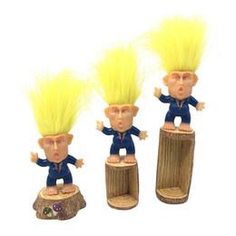$enCountryForm.capitalKeyWord NZ - 2019 6CM Donald Trump Action Figures Doll USA President John Trump Dressed Model Kids Children Hand Play Funny Toys A61304