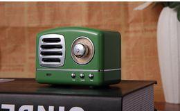 Audio 3d Usb Australia - Mini HM11 Bluetooth Speaker Vintage Portable Wireless Speaker Nostalgic Heavy Bass 3D Stereo Surround HiFi Sound Effects TF USB FM AUX