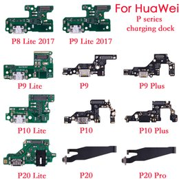 charging port huawei Australia - 10psc For Huawei P8 lite 2017 P9 P10 P20 lite Plus Charger Charging port Dock USB Connector Data Flex Cable Headphone Jack Flex Ribbon
