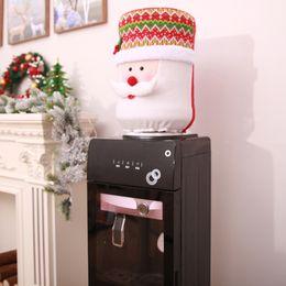 Purifier bottle online shopping - Christmas Dust Cover Water Bucket Dispenser Container Bottle Purifier Xmas Decor