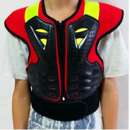 Elbow Supports Children Australia - Motorcycle protective gear child armor clothing teenage armor Sports Safety Back Support protection B